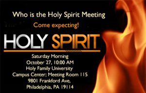 Who is the Holy Spirit and Healing Seminar @ Holy Family University | Philadelphia | Pennsylvania | United States